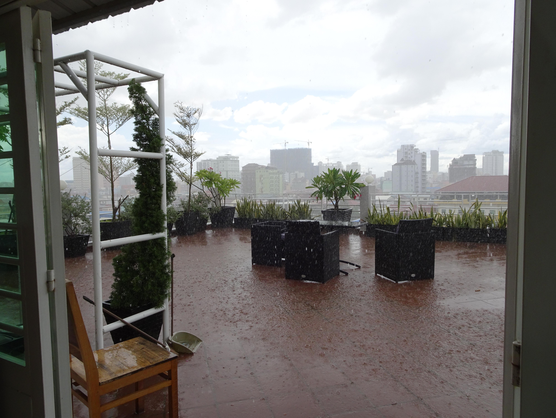 The rain on Dimitri's Balcony