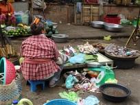 Fish monger Battambang