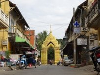 Wat entrance Battambang